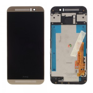 HTC One M9 -  LCD Display Touch Screen Dourado