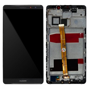 Huawei Ascend Mate 8 - Full Front LCD Digitizer With Frame Black