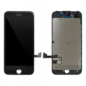 iPhone 7 - LCD Digitizer (Original Remaded) Black