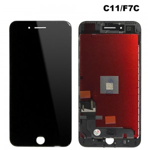iPhone 7 Plus - LCD Digitizer (Original Remaded) Black (Comp. C11/F7C/FVQ)