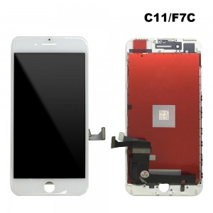 iPhone 7 Plus - LCD Digitizer (Original Remaded) White (Comp. C11/F7C/FVQ)