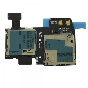 Galaxy S4 Active I9295 - Sim Reader Flex + Micro SD Reader Rev 0.4