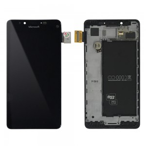 Microsoft Lumia 950 - Full Front LCD Digitizer With Frame Black