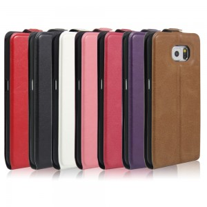 Samsung Galaxy S6 G920 - Crazy Horse Vertical Leather Case