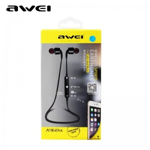 Awei A960BL - Metal Bluetooth 4.1 HiFi Sports Headset with Micro
