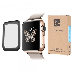 Apple Watch 38mm - Tempered Glass Full Coverage