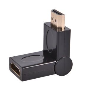 180 Degree Rotating HDMI Male to Mini HDMI Female Adapter