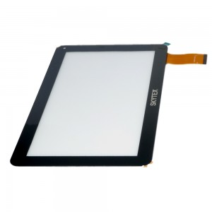 Universal 10.1 inch 50 Pins JQ10001FP - Vidro Touch Screen Preto