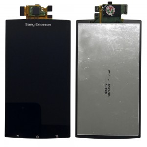 Sony Xperia Arc S LT18i LT15i X12 - Full Front LCD Digitizer Black