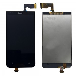 HTC Desire 300 - Full Front LCD Digitizer Black