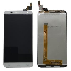 Alcatel Idol 2 S 6050 6050Y OT6050 - Full Front LCD Digitizer Branco
