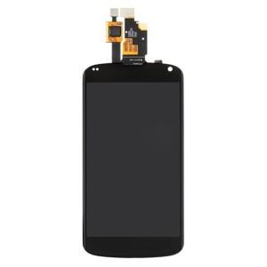 LG Nexus 4 E960 - Full Front LCD Digitizer Preto