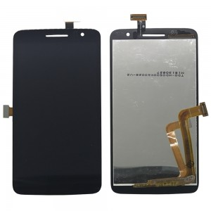 Alcatel One Touch Scribe OT8008 8008 W 8008D 8008 - Full Front LCD Touch Screen Preto