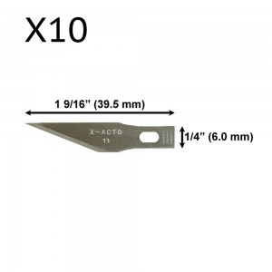 BSD - 11A Blades Pack 10x