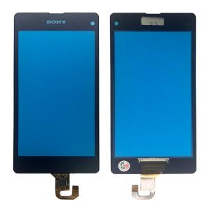 Sony Xperia Z1 Compact D5503 - Vidro Touch Screen Preto
