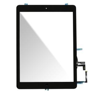 Ipad Air - Vidro Touch Screen com 3M Adhesive Sticker Preto