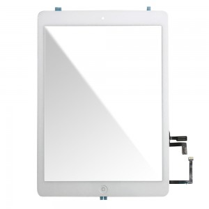 Ipad Air - Vidro Touch Screen com 3M Adhesive Sticker Branco