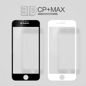 iPhone 7 / 8 / SE 20202 - NillKin 3D CP+ Max Full Coverage Anti-explosion Tempered Glass