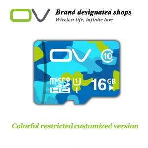 OV Camouflage Edition 16GB 80MB/S High Speed Class 10 Micro SD Memory Card