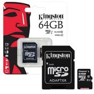Kingston SD Card 64 GB