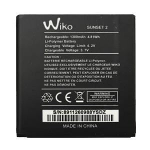 Wiko Sunset 2 - Bateria