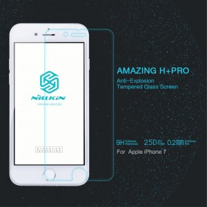 iPhone 7 / 8 - NillKin Tempered Glass Screen Protector Amazing H+ Pro