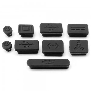 Macbook Pro - Anti-Dust Silicone Rubber Port Plugs