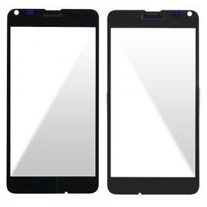 Nokia Lumia 640 - Front Glass Black