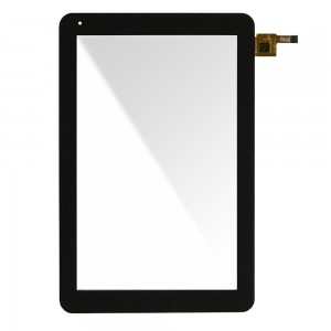 Universal 10.1 inch CTP101072-01 - Front Glass Digitizer Black