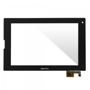 Medion 8.9 inch - Front Glass Digitizer Black QSD 702-09038-01