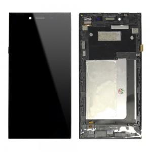 Umi Digi - Full Front LCD Digitizer with Frame Black