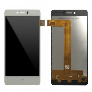 BQ Aquaris U / U Lite - Full Front LCD Digitizer White