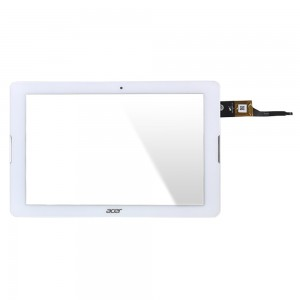 Acer Iconia Tab B3-A20 - Front Glass Digitizer White with Frame PB101JG3179-R4