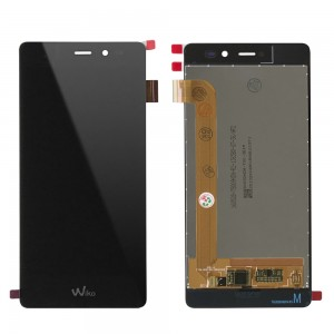 Wiko Tommy - Full Front LCD Digitizer Black