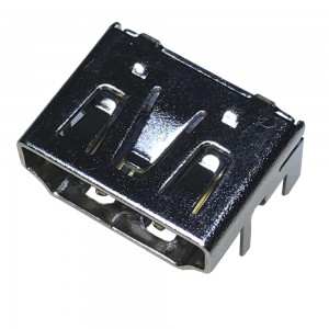 HDMI 19 Pin Female Socket Connector 4 Legs