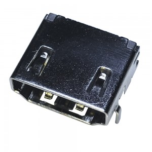 HDMI 19 Pin Female DIP Socket Connector 3 Rows