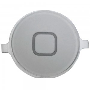 iPhone 4S - Home Button Plastic White