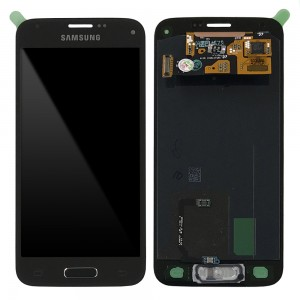 Samsung Galaxy S5 Mini G800F - Full Front LCD Digitizer Gold < Service Pack >
