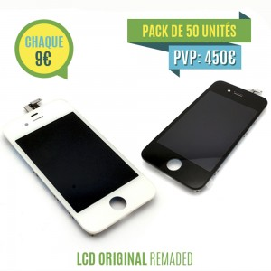 iPhone 4S - LCD Digitizer (original remaded)  50x