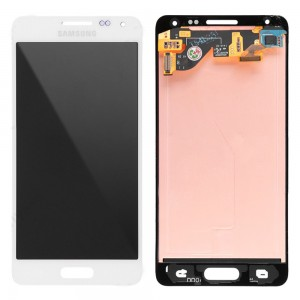 Samsung Galaxy Alpha G850F - Full Front LCD Digitizer White