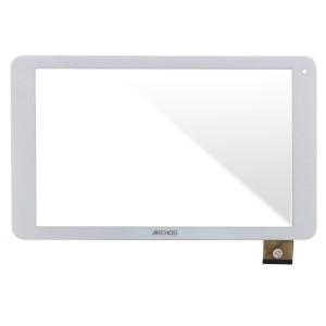 Universal 10.1 inch / Archos 101c Platinum - Front Glass Digitizer White