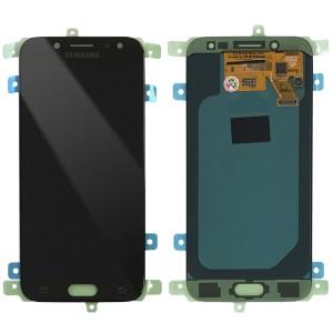 "Samsung Galaxy J5 2017 J530 - Full Front LCD Digitizer Black "" Service Pack """
