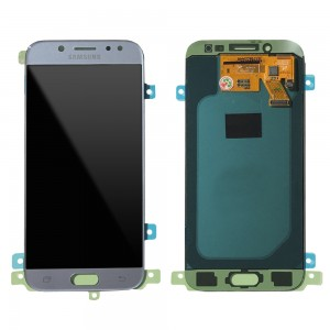 """Samsung Galaxy J5 2017 J530 - Full Front LCD Digitizer Silver """" Service Pack """""""