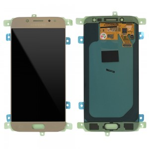 """Samsung Galaxy J5 2017 J530 - Full Front LCD Digitizer Gold """" Service Pack """""""