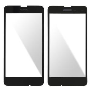 Nokia Lumia 630 - Front Glass Black