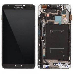 Samsung Note 3 N9000 - Full Front LCD Digitizer with Frame Black < Service Pack >