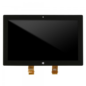 Microsoft Surface Pro 1 - Full Front LCD Digitizer Black