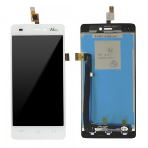Wiko Highway Signs - Full Front LCD Digitizer White