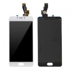 Meizu M3S - Full Front LCD Digitizer White