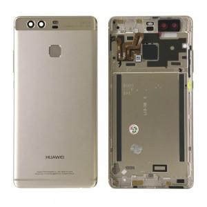 Huawei Ascend P9 - Back Housing with Fingerprint Sensor Flex Gold